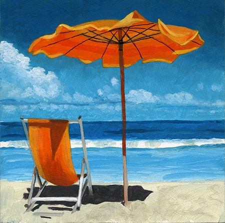 """""""Ready for Summer 2 SOLD"""" original fine art by Ria Hills"""