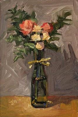 """""""PTA Bouquet"""" original fine art by Raymond Logan"""