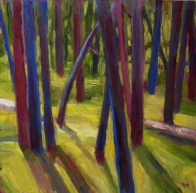 """The Woods"" original fine art by Nicki Ault"