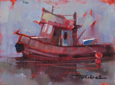 """Tug"" original fine art by Brian Buckrell"