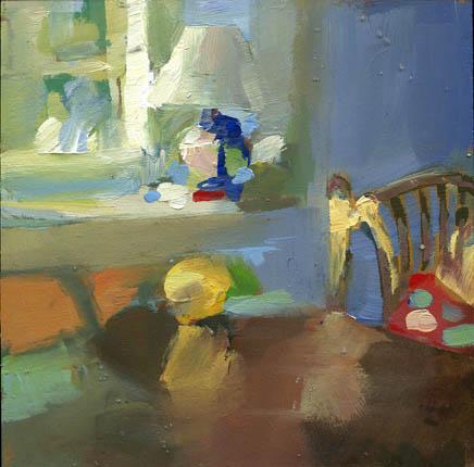 """""""Lamp #903"""" original fine art by Lisa Daria"""