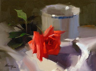"""""""Demo at Round Rock 2 --- Sold"""" original fine art by Qiang Huang"""