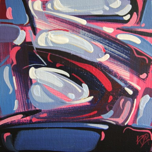 """""""Shapes & Movement 55"""" original fine art by Roger Akesson"""