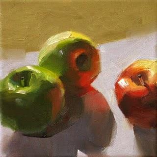 """Warm Up --- Sold"" original fine art by Qiang Huang"