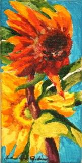 """""""Blowing in the Wind"""" original fine art by JoAnne Perez Robinson"""