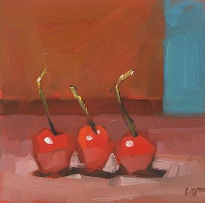 """Stems Up --- SOLD"" original fine art by Carol Marine"