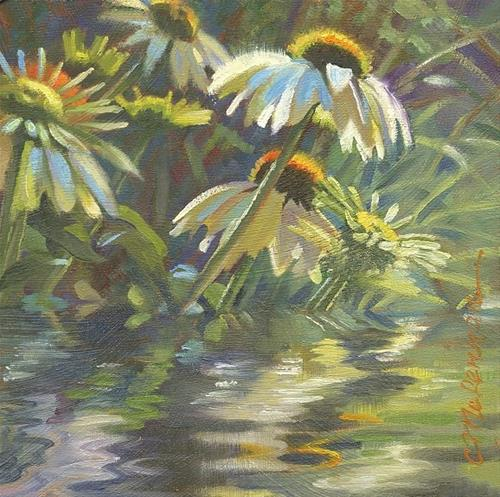 """Reflections"" original fine art by Connie McLennan"