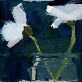 """""""#1042 At Bay"""" original fine art by Lisa Daria"""