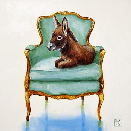 """don't pin my tail !"" original fine art by Kimberly Applegate"