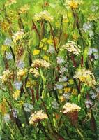"""Wildflowers1"" original fine art by Nan Johnson"