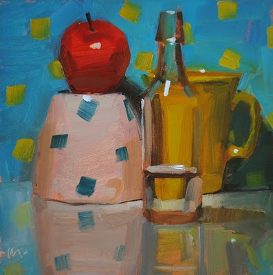 """Seeing Spots"" original fine art by Carol Marine"