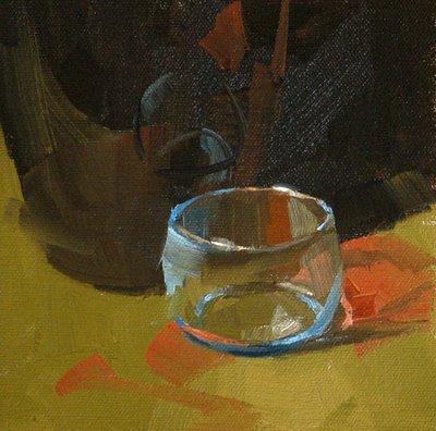 """""""Emptiness"""" original fine art by Qiang Huang"""