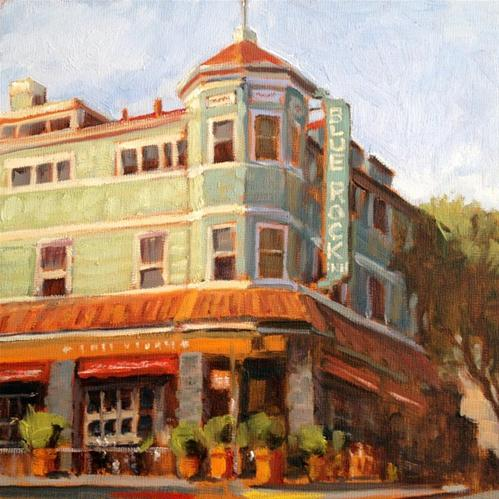 """Blue Rock Inn"" original fine art by Deborah Newman"