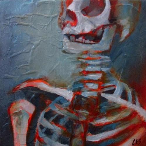"""Patient Zero"" original fine art by ~ces~ Christine E. S. Code"