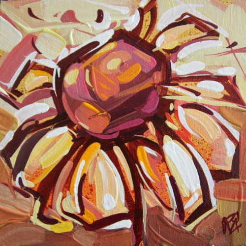 """""""Flower Abstraction 201"""" original fine art by Roger Akesson"""