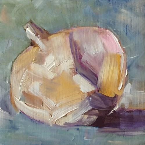 """Garlic"" original fine art by Gigi ."