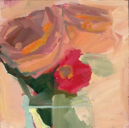 """1607 Offshoot"" original fine art by Lisa Daria"