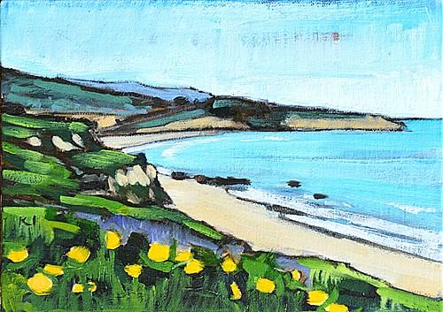 """Laguna Beach Painting"" original fine art by Kevin Inman"