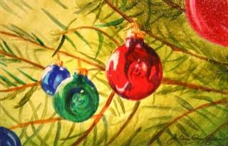 """""""Tree Jewelry"""" original fine art by JoAnne Perez Robinson"""