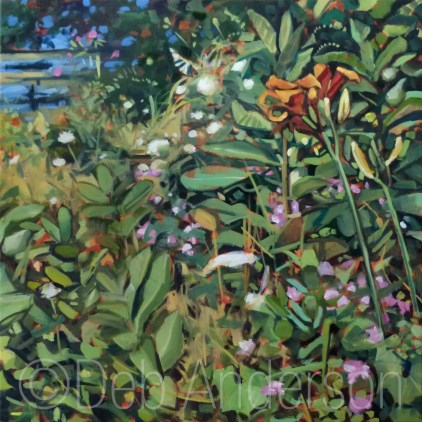 """""""Oil Painting: Tigerlily"""" original fine art by Deb Anderson"""