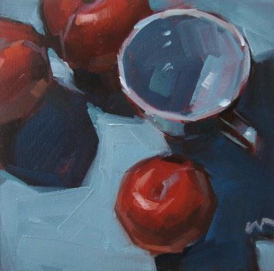"""A Stranger Among Us --- SOLD"" original fine art by Carol Marine"