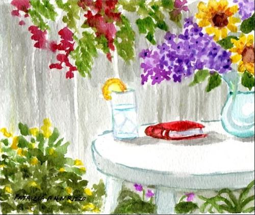 """No Place Like Home"" original fine art by Patricia Ann Rizzo"