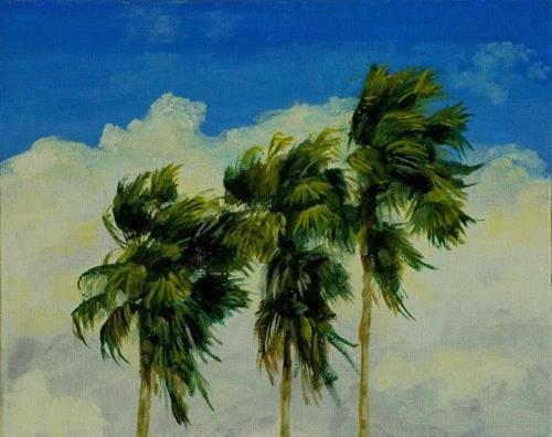 """""""The Wind Is Picking Up"""" original fine art by Ted Michaelis"""