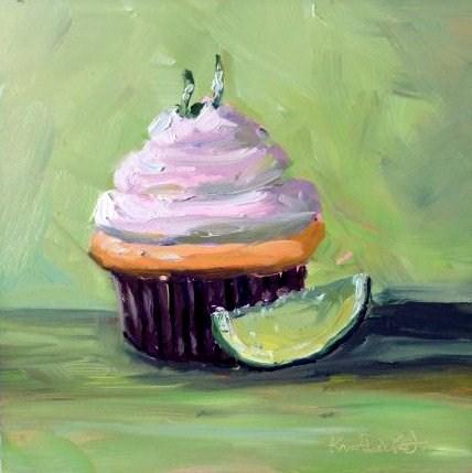 """""""Cupcake"""" original fine art by Kristen Dukat"""