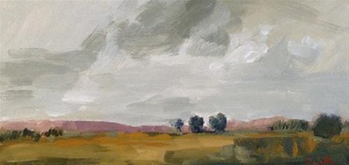 """Norwood sky III"" original fine art by Pamela Munger"