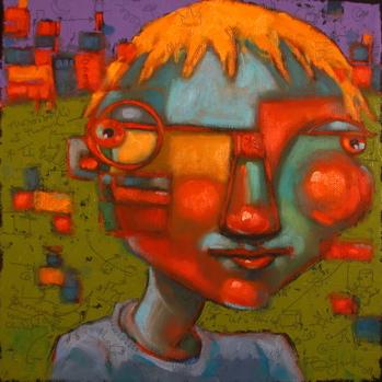 """Boy-Child"" original fine art by Brenda York"