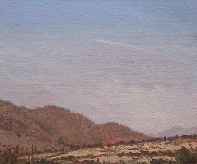 """Arizona Landscape"" original fine art by Abbey Ryan"
