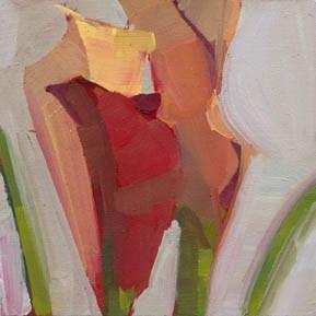 """1164 Untangled"" original fine art by Lisa Daria"