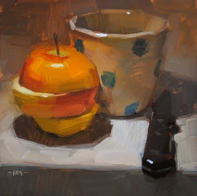 """""""Cut and Twisted"""" original fine art by Carol Marine"""