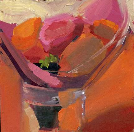 """1473 Q&A"" original fine art by Lisa Daria"