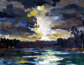 """storm"" original fine art by Jurij Frey"