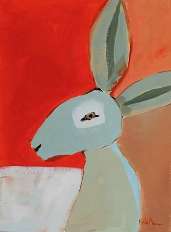 """""""Blue Jack"""" original fine art by Pamela Munger"""