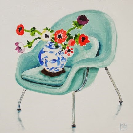 """matisse love"" original fine art by Kimberly Applegate"