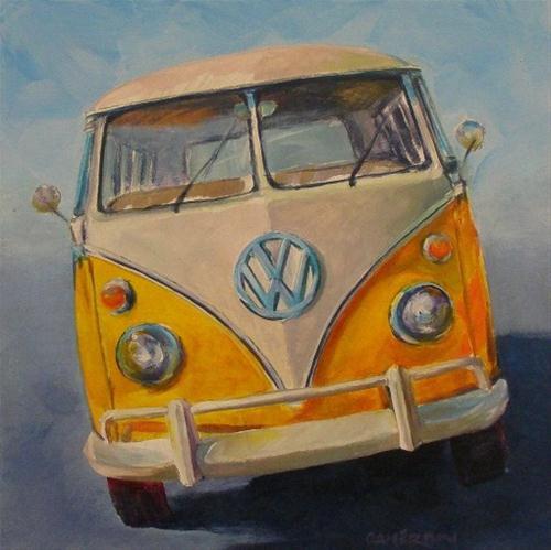"""YELLOW SAMBA"" original fine art by Brian Cameron"