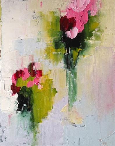 """""""Flower Dance"""" original fine art by Pamela Munger"""