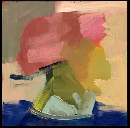 """2492 & 2493 Back on Track"" original fine art by Lisa Daria"