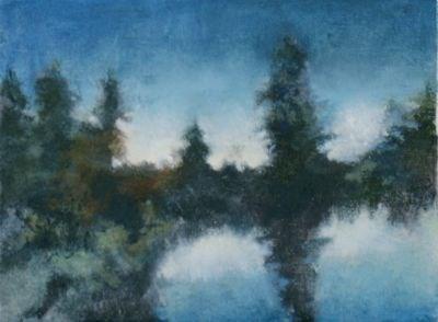 """Morning Glow"" original fine art by Susan Hammer"