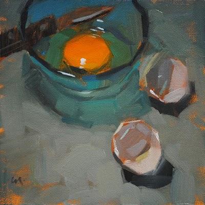 """Heart of Gold"" original fine art by Carol Marine"