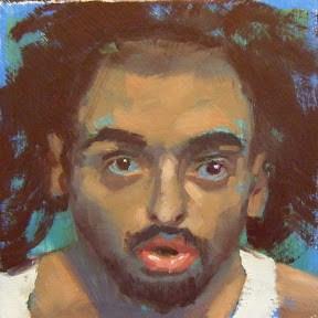 """""""FACE-IT   #23"""" original fine art by Helen Cooper"""