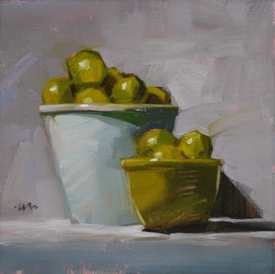 """Limes and More"" original fine art by Carol Marine"