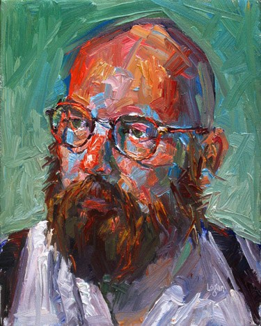 """Tim"" original fine art by Raymond Logan"