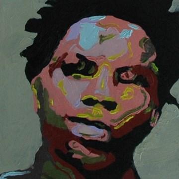"""JOE No. 2"" original fine art by Linda Popple"