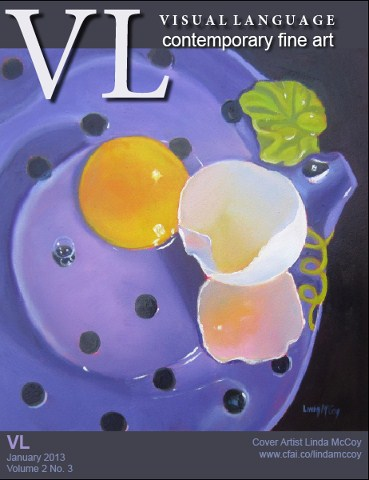 """Cover, Visual Language Magazine!"" original fine art by Linda McCoy"