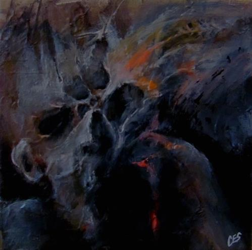 """Festering"" original fine art by ~ces~ Christine E. S. Code"