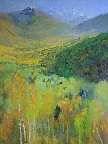 """Colorado Landscape Oil Painting The Magic of Autumn by Colorado Landscape Artist Susan Fowler"" original fine art by Susan Fowler"