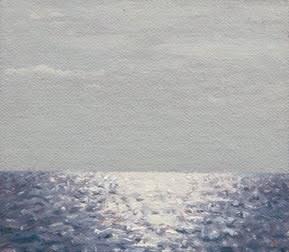 """Cuban Seascape No. 1 (Havana) -- Cuba 2012 painting #3"" original fine art by Abbey Ryan"
